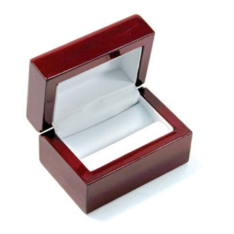Double Ring Rosewood Jewelry Box - Jewel Box Co