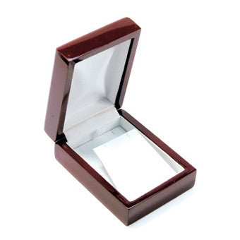 Pendant/Earring Rosewood Jewelry Box - Jewel Box Co