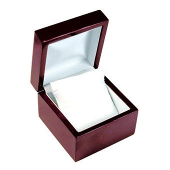 Rosewood Pillow Watch Box - Jewel Box Co