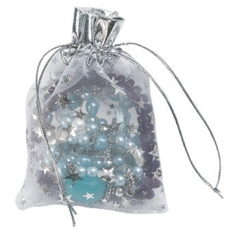 Fancy Organza Drawtring Pouch - Jewel Box Co