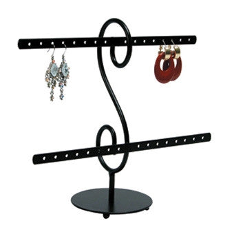 (16pr.) Metal Earring Stand - Jewel Box Co