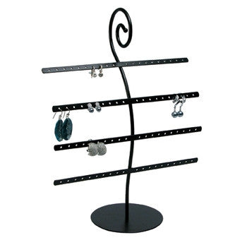 (40pr.) Metal earring stand - Jewel Box Co