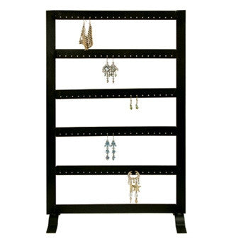 (50pr.) Metal Earring Stand - Jewel Box Co