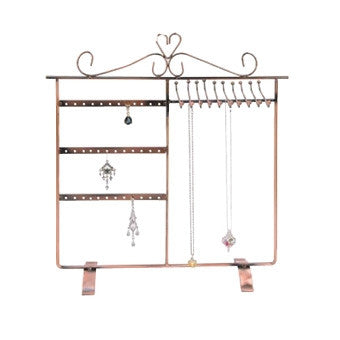 Copper Finish Metal Combo Display - Jewel Box Co