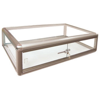 Aluminum Countertop Showcase - Jewel Box Co