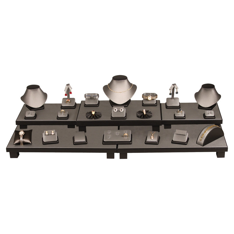 26 Piece Steel Grey Showcase Collection Set - Jewel Box Co