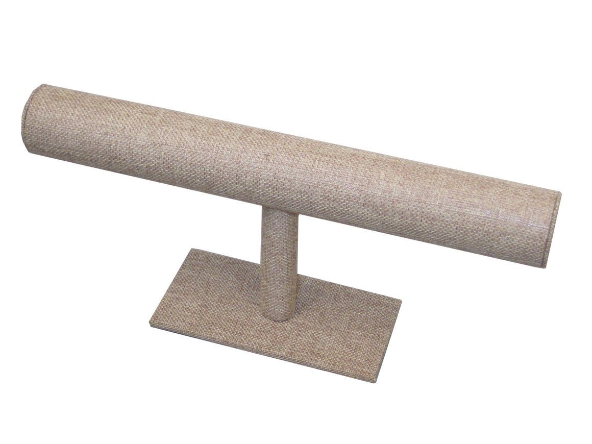 Burlap Economy T-Bar (Wide) - Jewel Box Co