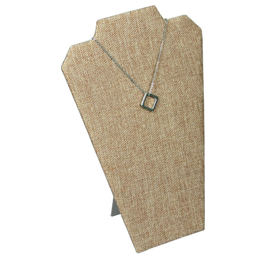Burlap Necklace Easel Stand - Jewel Box Co