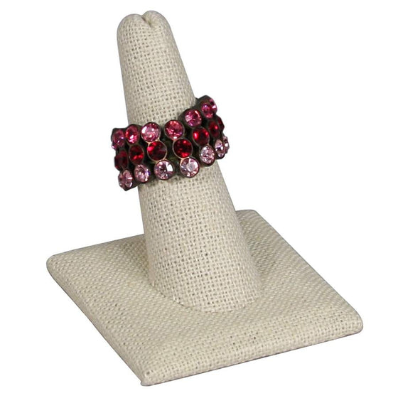 Linen Finger Ring Stand - Jewel Box Co