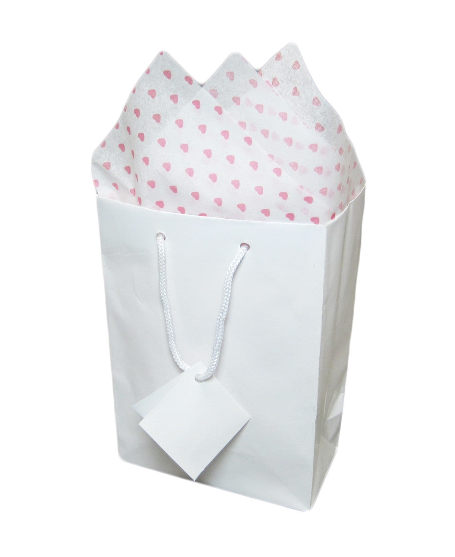 Heart Pattern Tissue Paper - Jewel Box Co