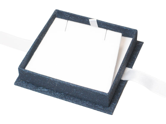 Moonlight Blue Pendant/Earring Box - Jewel Box Co