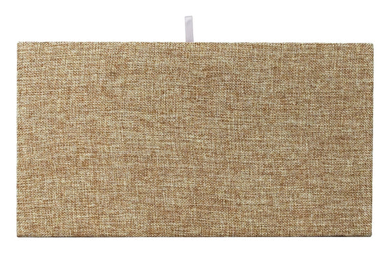 Burlap Plain Pad Tray Insert - Jewel Box Co