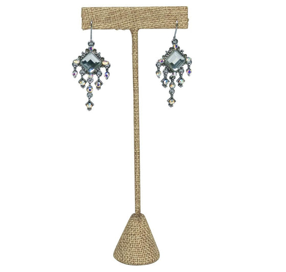 "6 3/4"" Burlap T Earring Display Stand - Jewel Box Co"