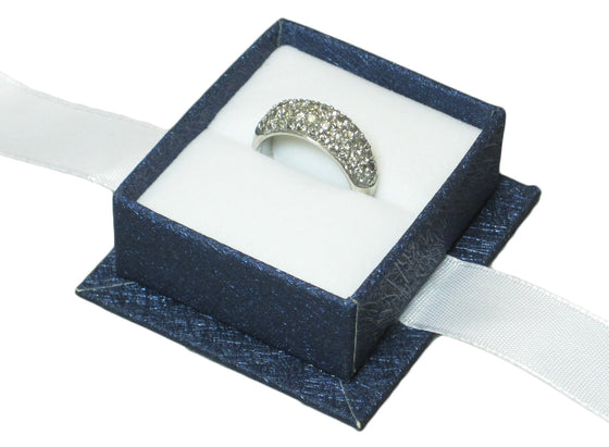 Moonlight Blue Ring Box - Jewel Box Co