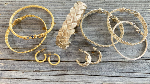 Nautical Cable & Braid Jewelry