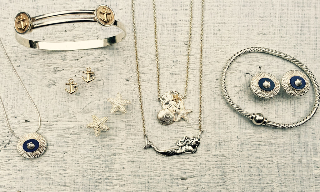 Anchors, Nantucket Baskets & Shells
