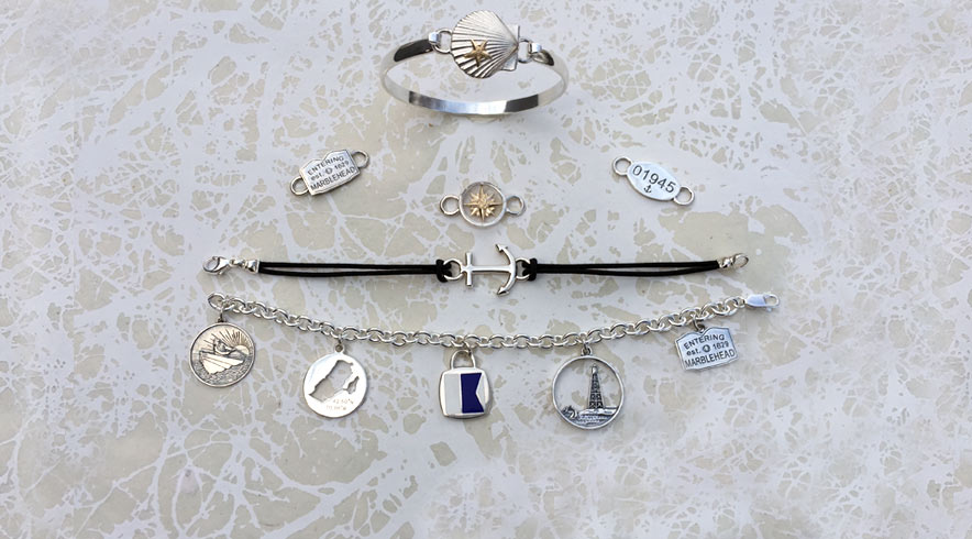 Swap Top Bracelets and Our Marblehead Mementos
