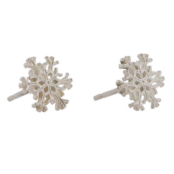 "Small snowflake posts: 3/8"" across"
