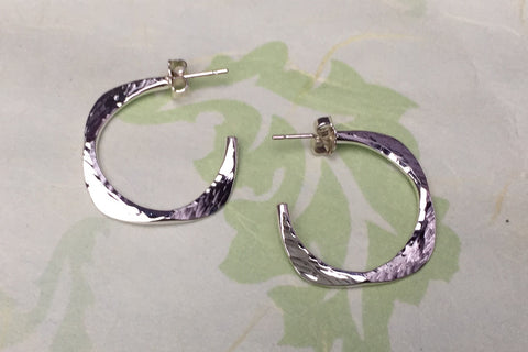 "7/8"" Square-Edged Hoops"