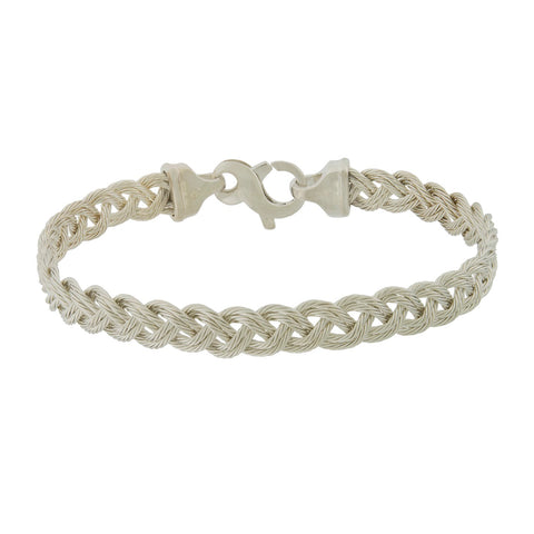 Double Strand Sterling Turk's Head Bracelet
