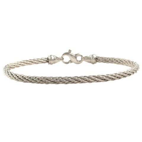 Delicate Sterling Cable Bracelet