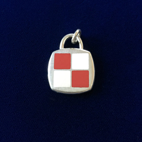 Sterling Silver Code Flag: uniform