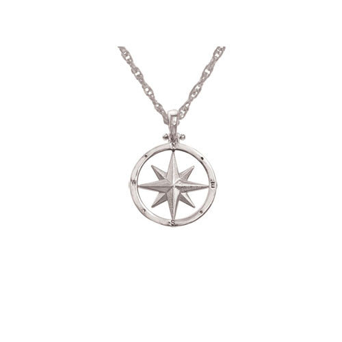Compass Rose all sterling