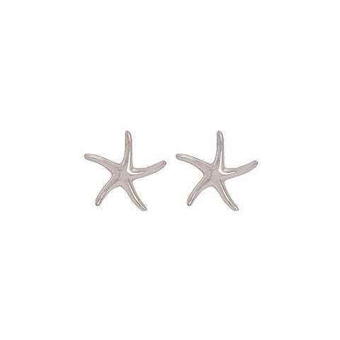 Sterling Stylized Starfish Post Earrings