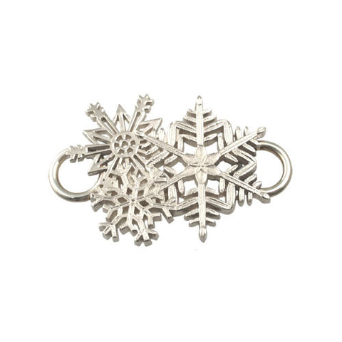 Sterling Silver Snowflakes Swap Top