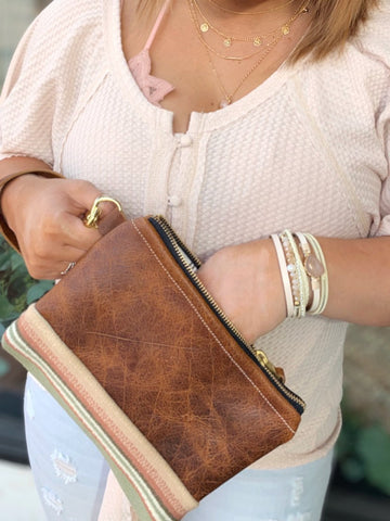 Mckenzie Mini Wristlet - Meant Mfg.