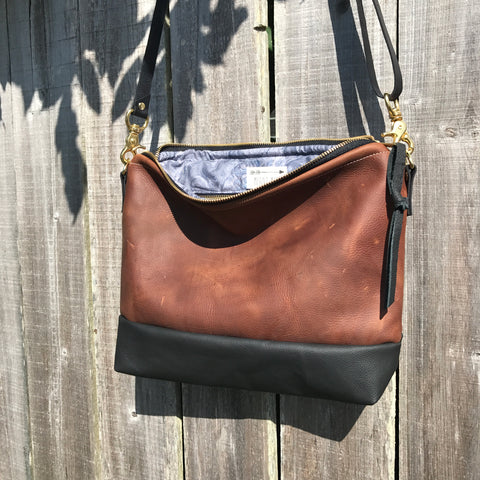 The Alsea Crossbody in Full Grain Leather-2 colors-