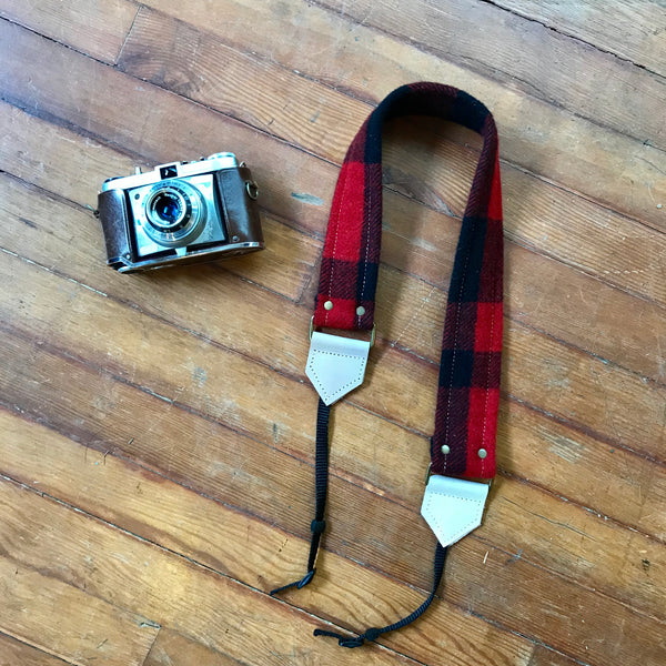 The Pacific Camera Strap-Medium - Meant Mfg.