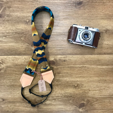 The Pacific Camera Strap-Large - Meant Mfg.