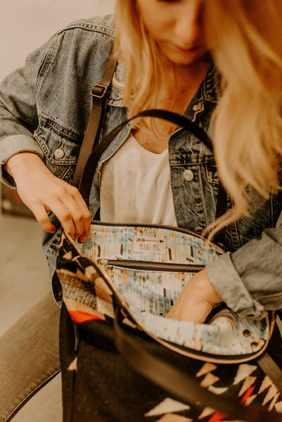 The Tumalo Fold-Over Crossbody Tote - Meant Mfg.
