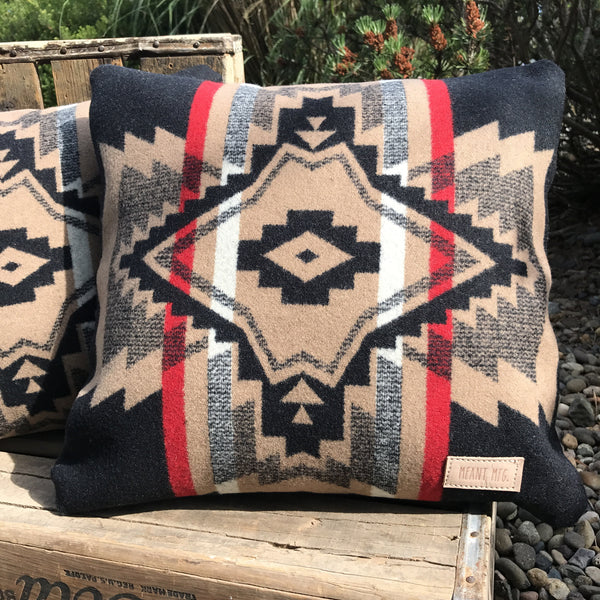 The Siuslaw throw pillow
