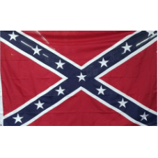 10' x 15' Embroidered Confederate Flag