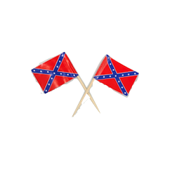 100 Pack of Confederate Flag Toothpicks