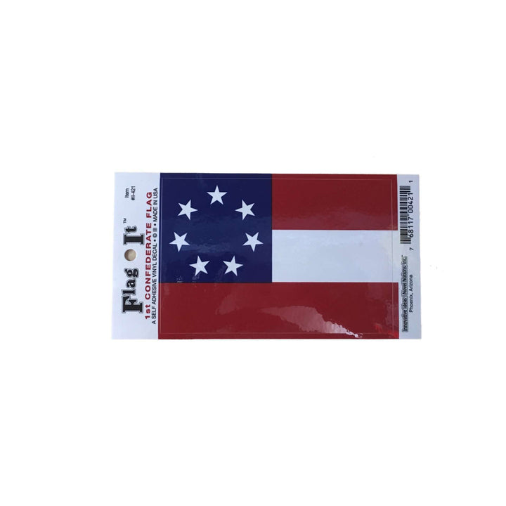 1st Confederate Flag Sticker (small)
