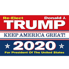 2020 Trump for president Flag