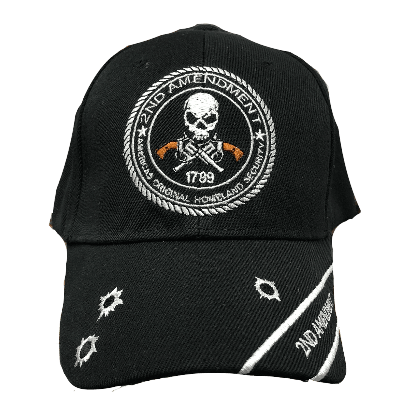2nd Amendment Embroidered Hat