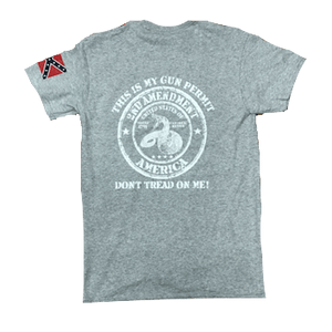 2nd Amendment Gun Permit T-Shirt