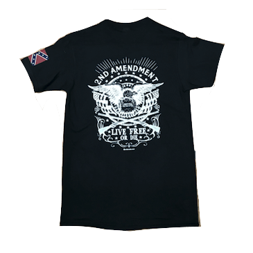 "2nd Amendment ""Live Free or Die"" T-Shirt"