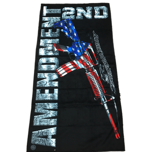 2nd Amendment M16 Velour Towel