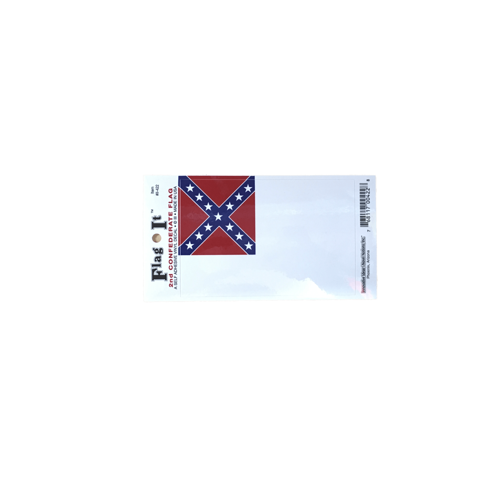 2nd confederate flag sticker smallstickerthe dixie shop 14558071 pngv1536520349