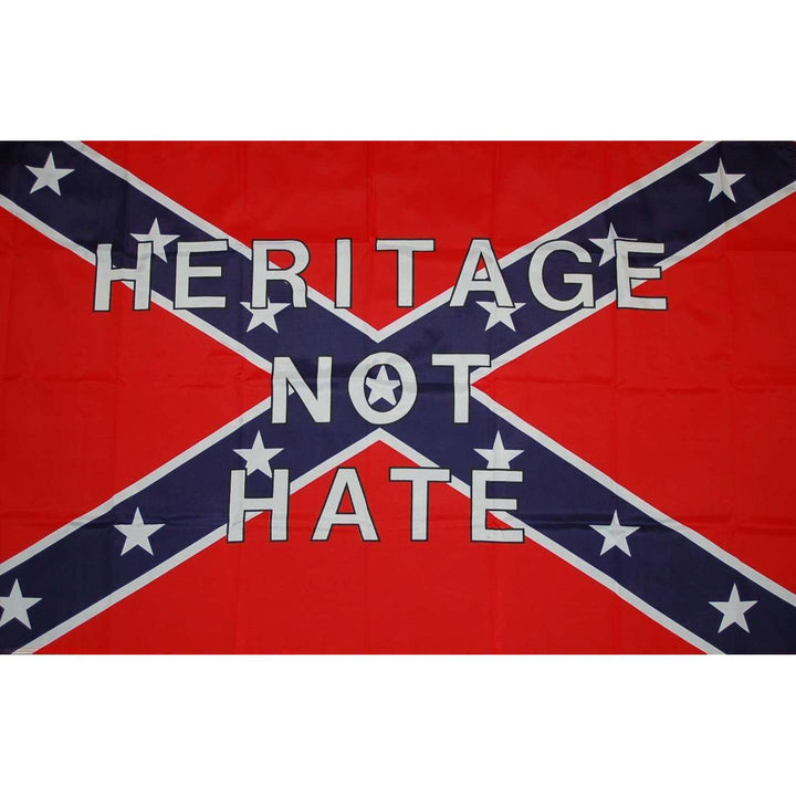 "3' x 5'  Confederate ""Heritage Not Hate"" Flag"