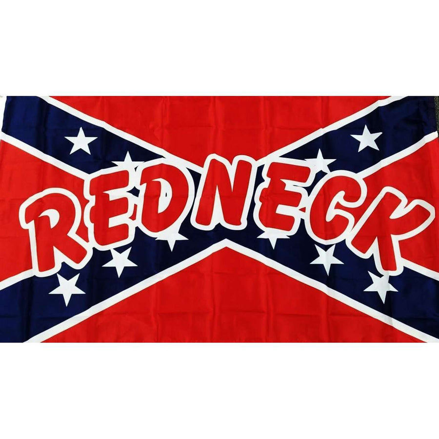 "3' x 5' Lightweight Polyester Confederate ""Redneck"" Flag"