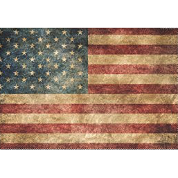 3' x 5' Polyester Vintage American Flag