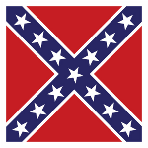 "38"" x 38"" Artillery Battle Flag"