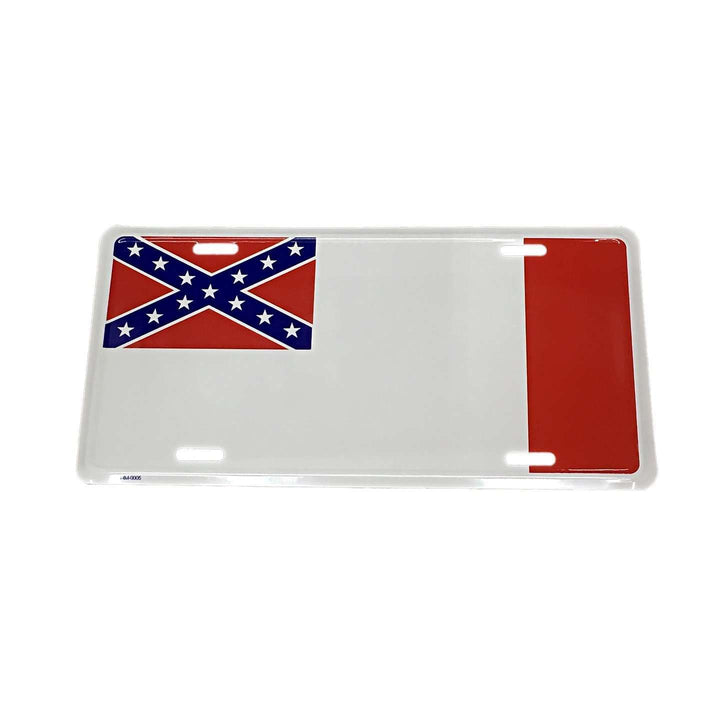 3rd Confederate Flag License Plate