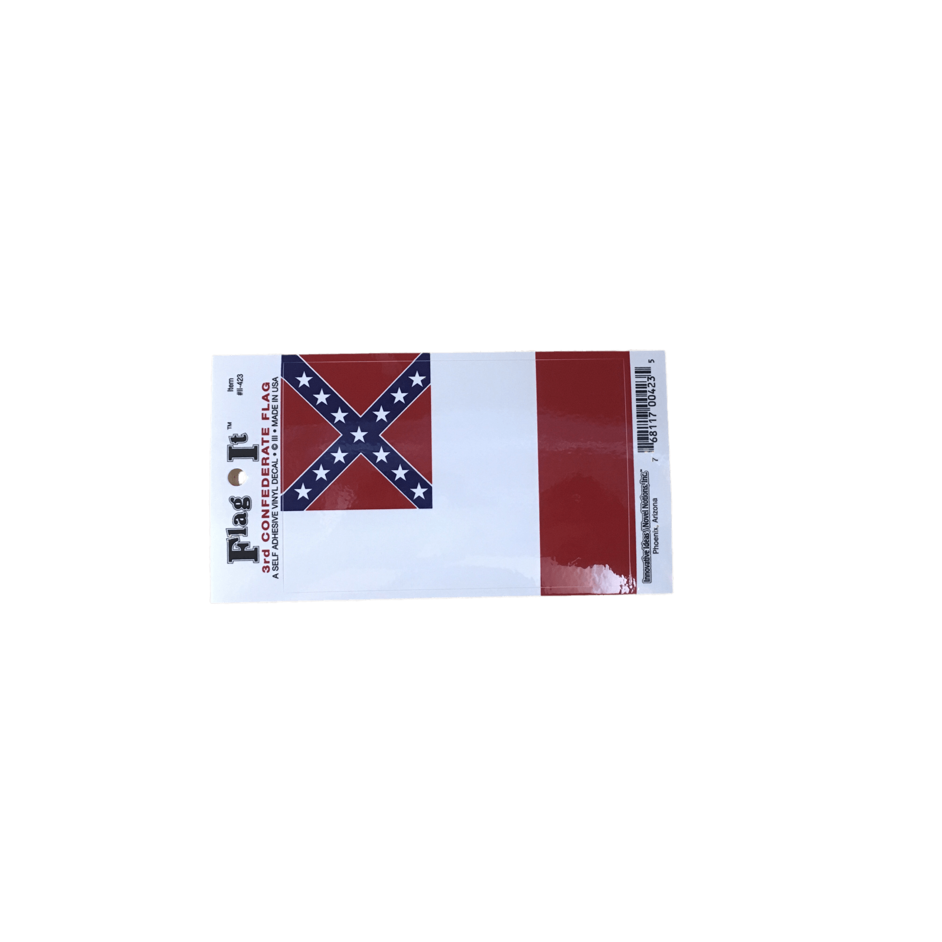 3rd confederate flag sticker smallstickerthe dixie shop 14558139 pngv1536520559